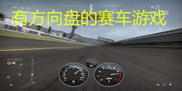 有方向盘的赛车游戏