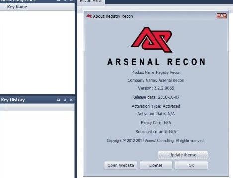 Registry Recon
