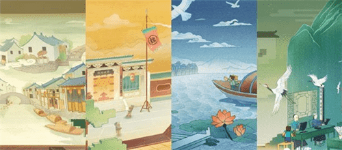 我的世界:四古村之江苏周庄组件介绍,观小桥流水人家