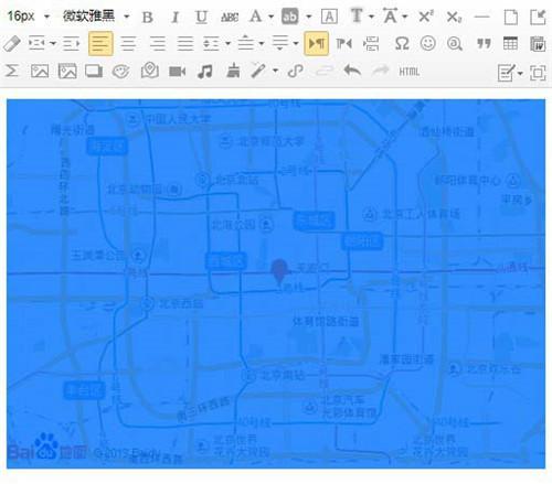 微信公众号怎么设置导航和地图