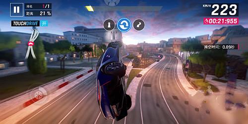狂野飙车9竞速传奇滚筒特技怎么做