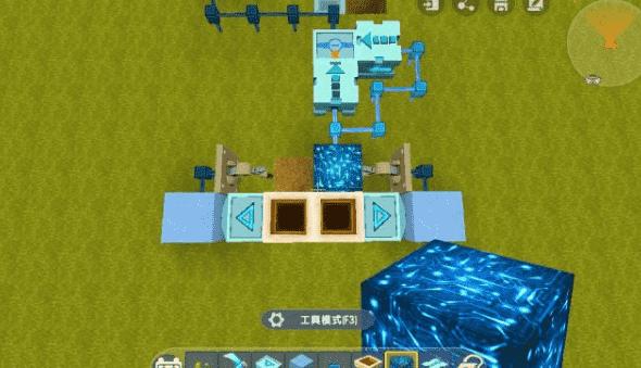 迷你世界收割机怎么做 定时收割机制作方法