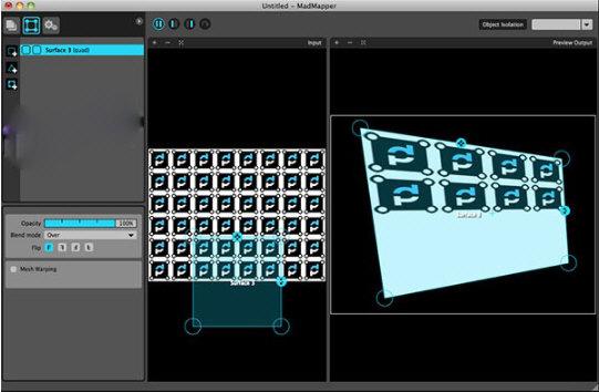 MadMapper(投影映射效果图工具) Mac